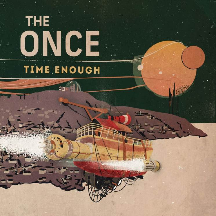 The Once Return with 'Time Enough' LP
