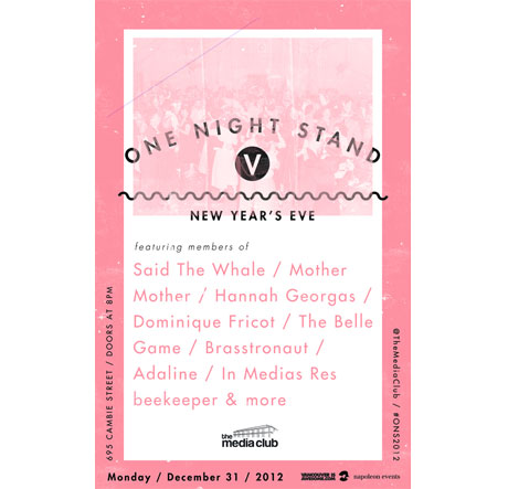 Hannah Georgas, Members of Said the Whale, Mother Mother, Brasstronaut Team Up for Vancouver New Year's Eve Show