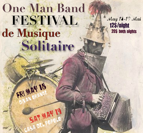Montreal's One Man Band Festival Gets Bloodshot Bill, Wax Mannequin, Lederhosen Lucil, Jesse Dangerously