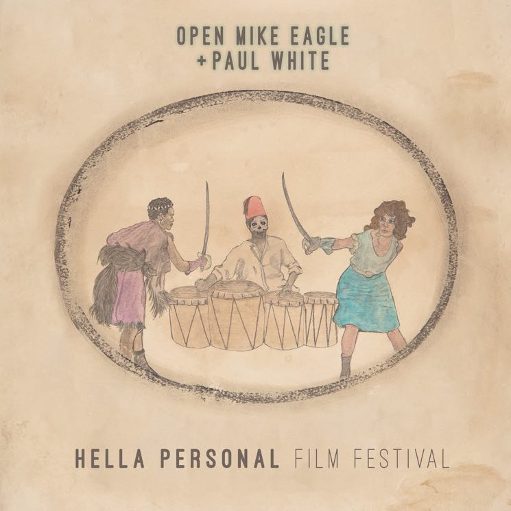 Open Mike Eagle and Paul White Hella Personal Film Festival