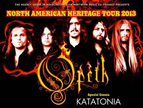Opeth Announce North American Tour with Katatonia