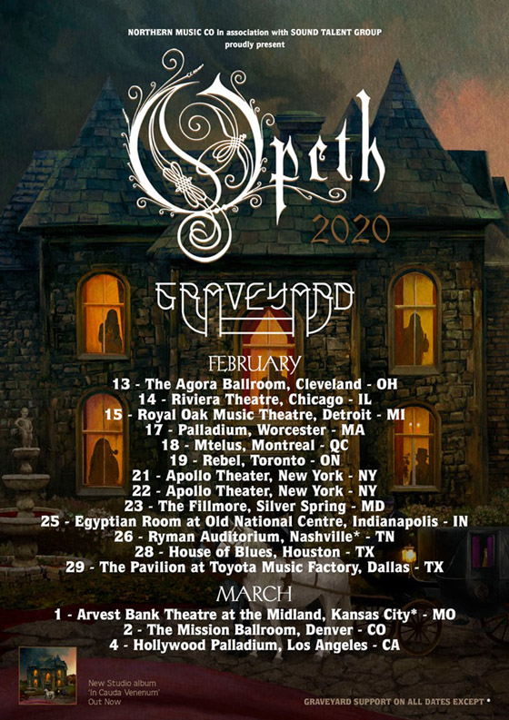 Opeth to Play Canada on North American Tour