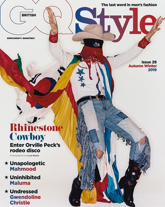 Orville Peck Is on the Cover of 'British GQ'
