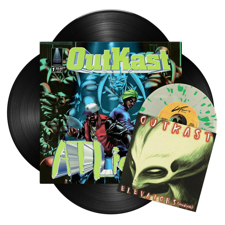 Outkast Detail Expanded 25th Anniversary Reissue of 'ATLiens'
