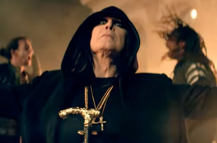 "Ozzy Osbourne Descends into Chaos in His ""Straight to Hell"" Video"