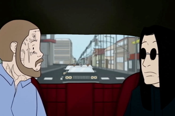 Ozzy Osbourne and Post Malone Get Animated for Their New 'It's a Raid' Video