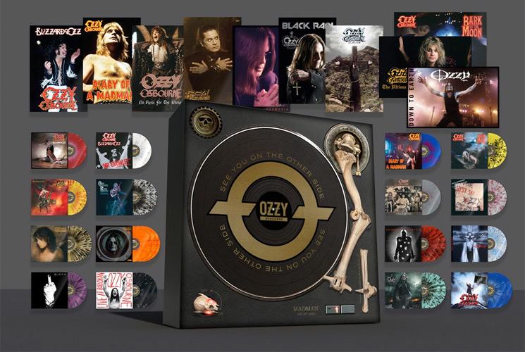 Ozzy Osbourne Unveils His 'Definitive' Vinyl Box Set