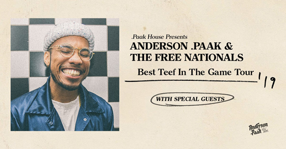 Anderson .Paak Announces 'Ventura' LP, Plots Tour with Thundercat, Earl Sweatshirt