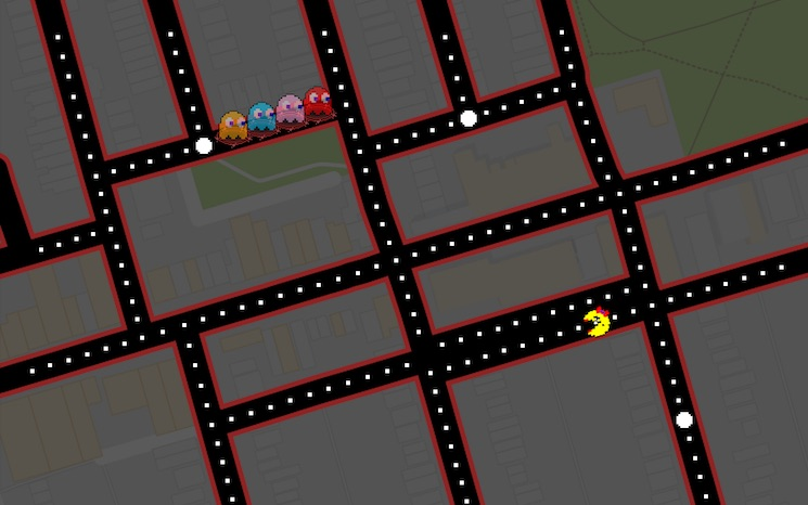 You Can Now Play 'Ms. Pac-Man' on Google Maps