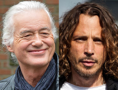 Jimmy Page and Chris Cornell Plotting Collaboration?