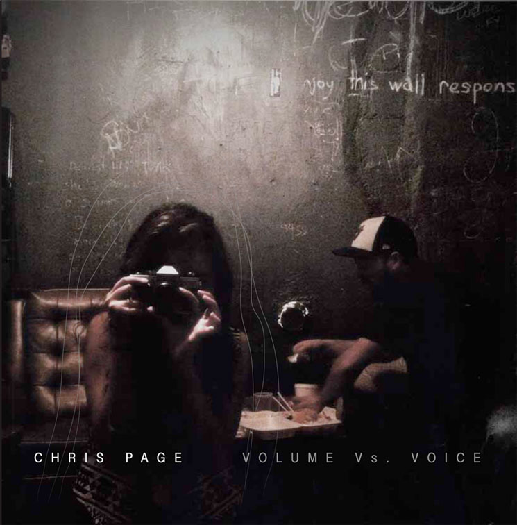 Chris Page 'Volume vs. Voice' (album stream)