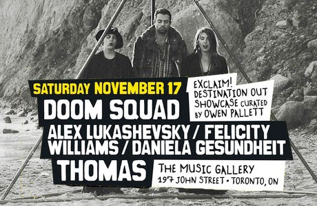 Owen Pallett Gets Doom Squad, T H O M A S, Alex Lukashevsky for Exclaim! 20th Anniversary Show