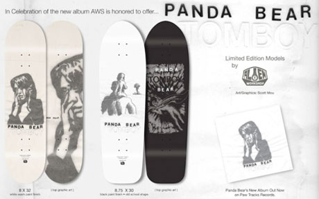 Panda Bear's <i>Tomboy</i> Celebrated with Series of Skate Decks