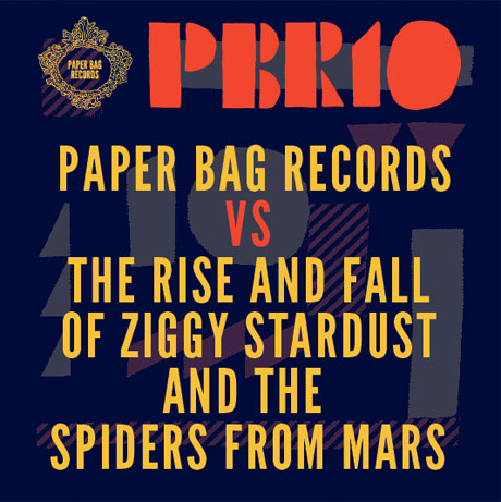 Various 'Paper Bag Records vs. The Rise and Fall of Ziggy Stardust from Mars'