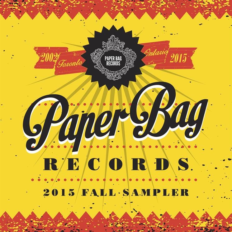 Various Artists 'Paper Bag Records 2015 Fall Sampler'