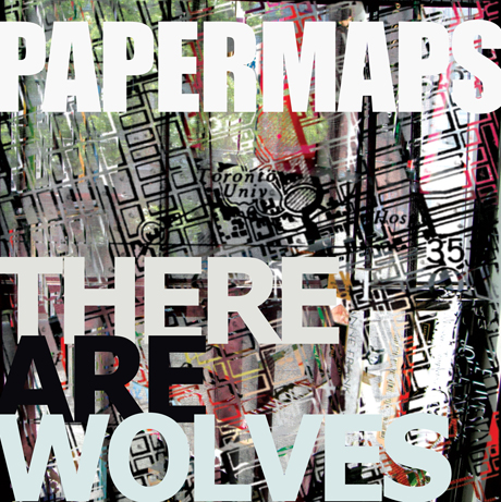 Papermaps 'There Are Wolves'
