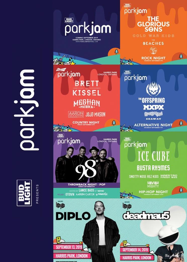 London, ON's Parkjam Festival Gets the Offspring, Deadmau5, Ice Cube