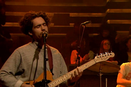 "Parquet Courts ""Stoned and Surviving"" (live on 'Fallon')"
