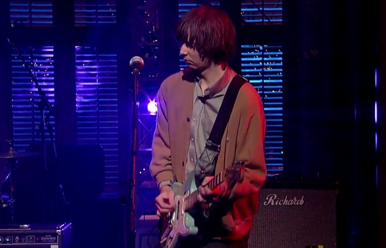 """Parquet Courts """"Bodies Made Of"""" (live on 'Letterman')"""
