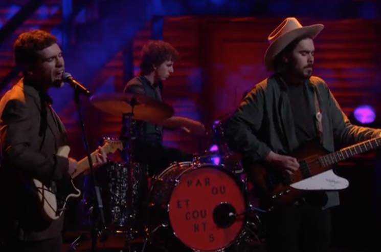 "Parquet Courts Take ""Berlin Got Blurry"" to 'Conan'"