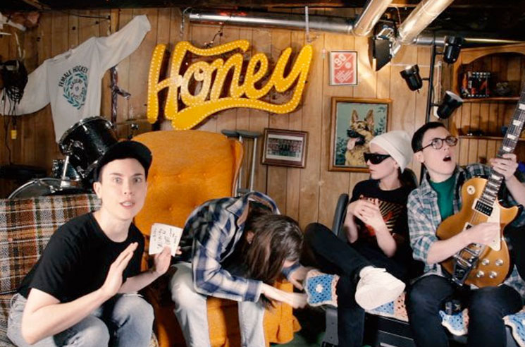 Partner Go Full 'Wayne's World' in Their 'Honey' Video