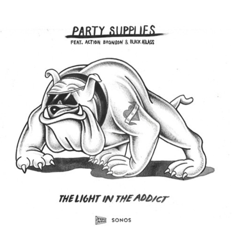 "Party Supplies ""The Light in the Addict"" (ft. Action Bronson & Black Atlass)"