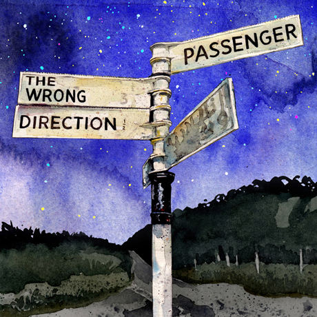 Passenger 'The Wrong Direction' (EP stream)