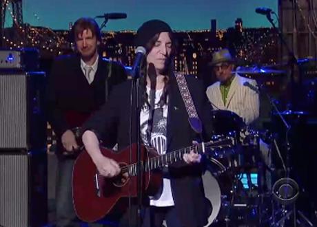"Patti Smith ""Banga"" (live on 'Letterman')"
