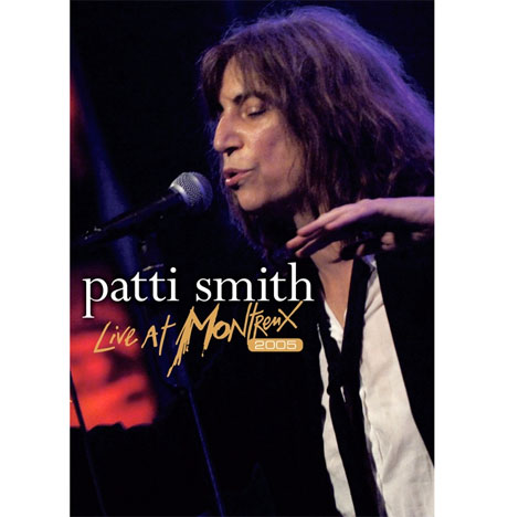Patti Smith to Deliver 'Live at Montreux 2005' DVD