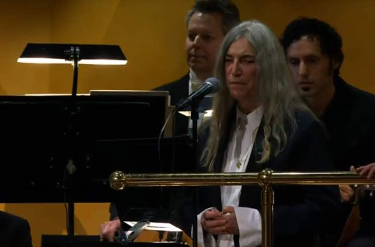 Patti Smith Pens Essay About Her Emotional Nobel Prize Performance