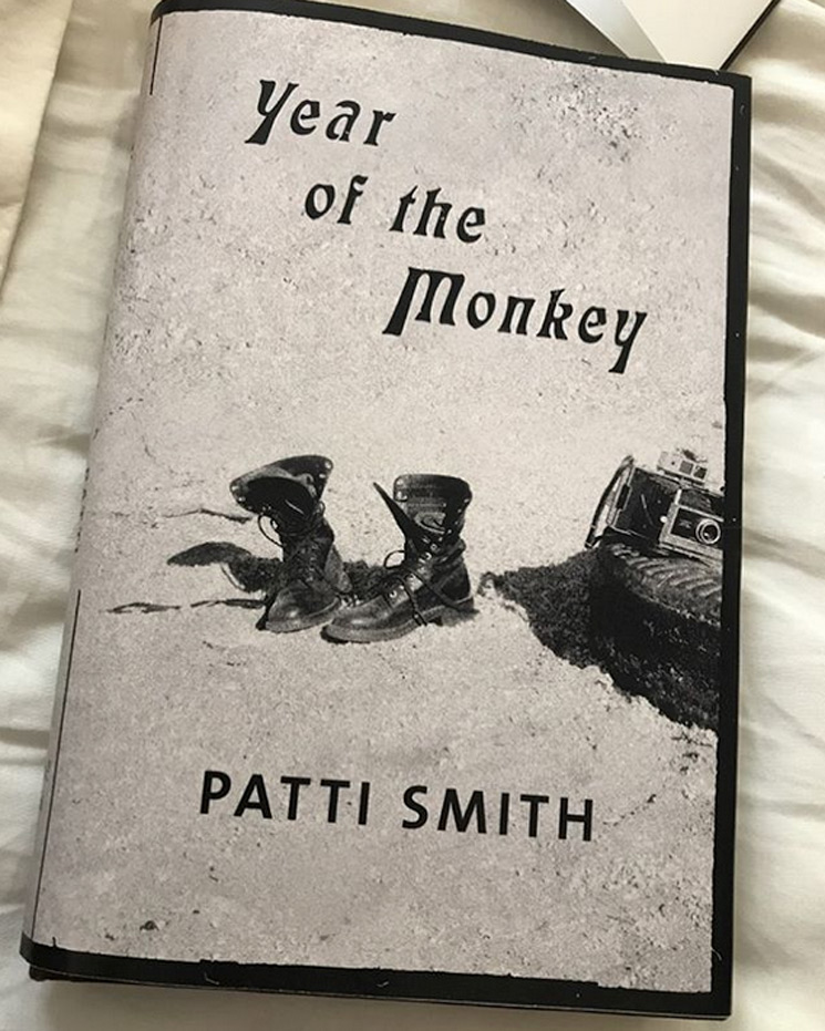 Patti Smith Announces New Book 'Year of the Monkey'