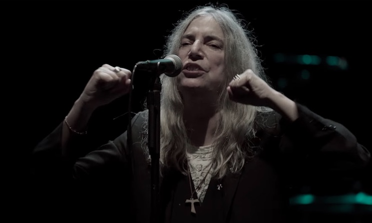 Watch Patti Smith perform Land in new concert documentary trailer