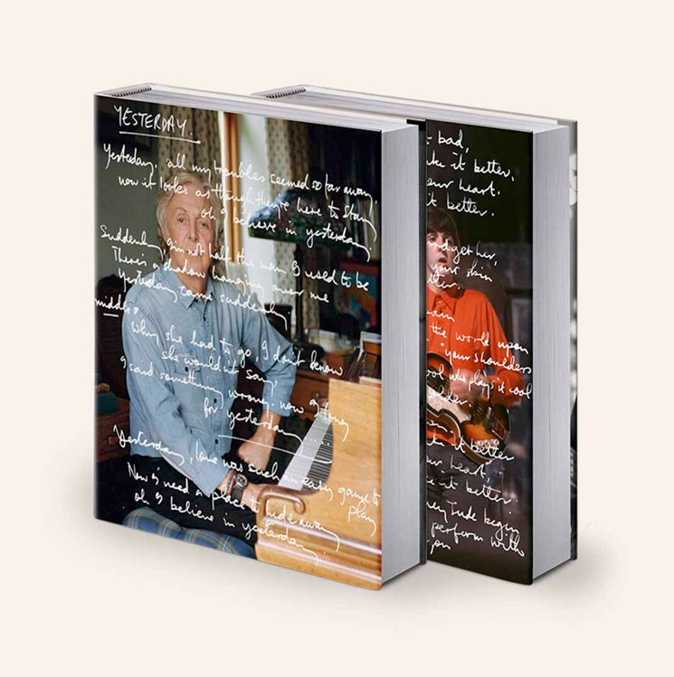 Paul McCartney Announces Massive Lyric Book 'The Lyrics: 1956 to the Present'