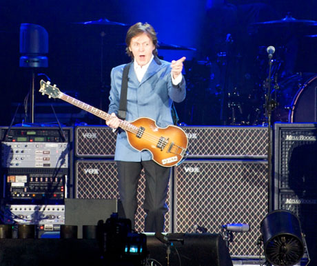 Paul McCartney Working with Mark Ronson on New Material