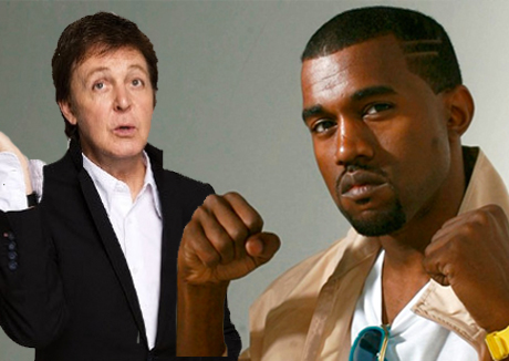Kanye West Reportedly Working with Paul McCartney