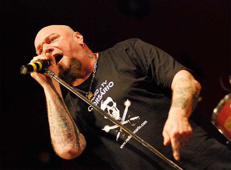 Iron Maiden Singer Paul Di'Anno Denies Cancer Reports