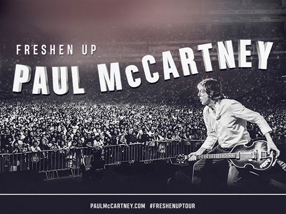 ​Paul McCartney Hits Canada on 'Freshen Up Tour'