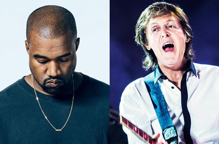 ​Kanye West Offered to Produce Paul McCartney's New Album 'Egypt Station'