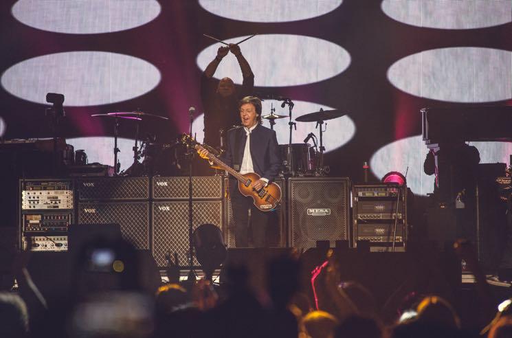 Paul McCartney Rogers Area, Vancouver BC, April 19