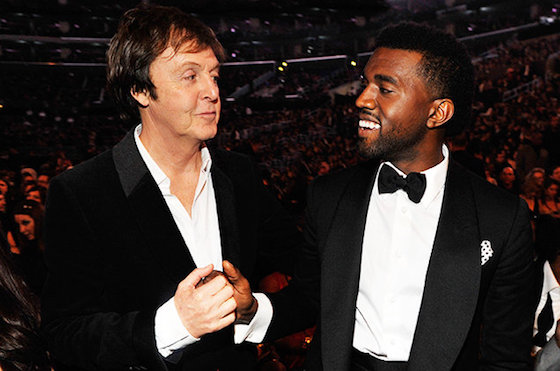 Paul McCartney Compares Kanye West to Andy Warhol