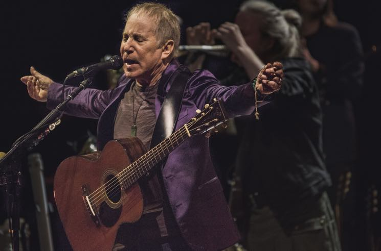Paul Simon Announces
