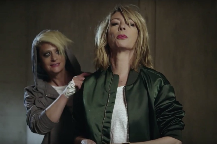 "Peaches ""Close Up"" (ft. Kim Gordon) (video)"