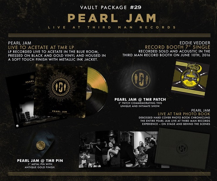 Pearl Jam Treated to Third Man Vault Release