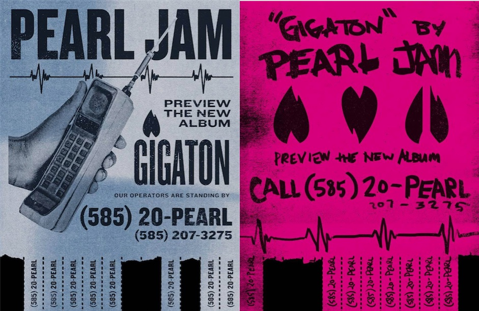 Pearl Jam Have Launched a New Phone Hotline to Premiere Their New Album