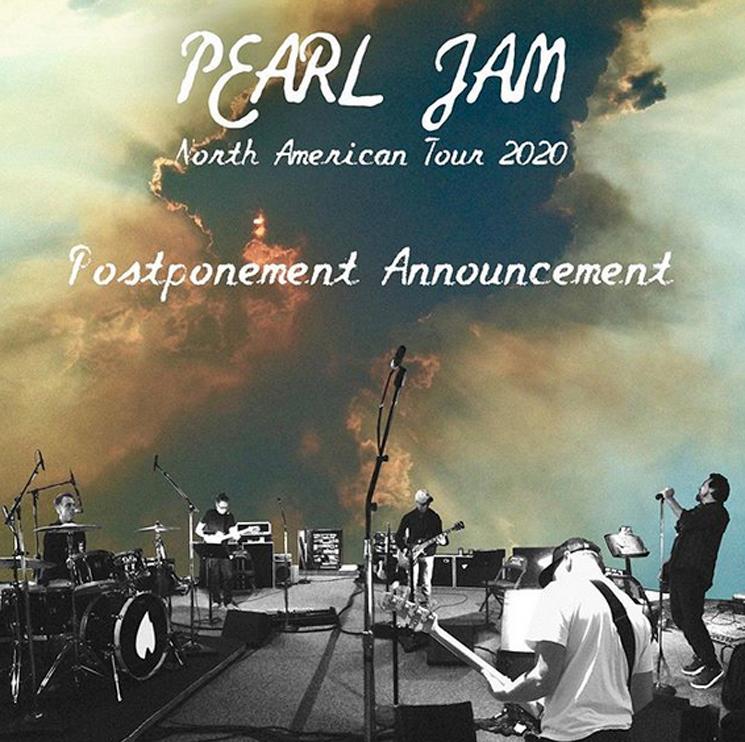 Pearl Jam Explain the Details of Their Tour Postponement