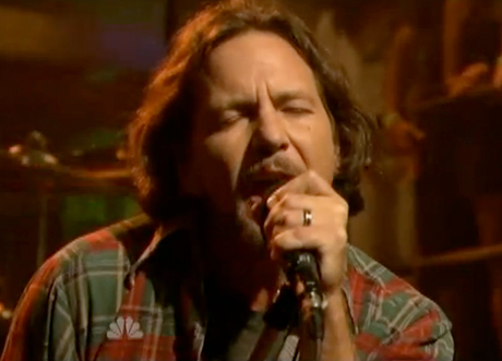 Pearl Jam 'Olé' / 'Balls in Your Mouth' / Cameron Crowe Interview (live on 'Fallon')