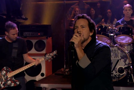 "Pearl Jam ""Sirens"" (live on 'Fallon')"