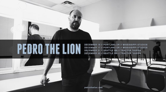 David Bazan Resurrects Pedro the Lion, Promises Tour and New Material