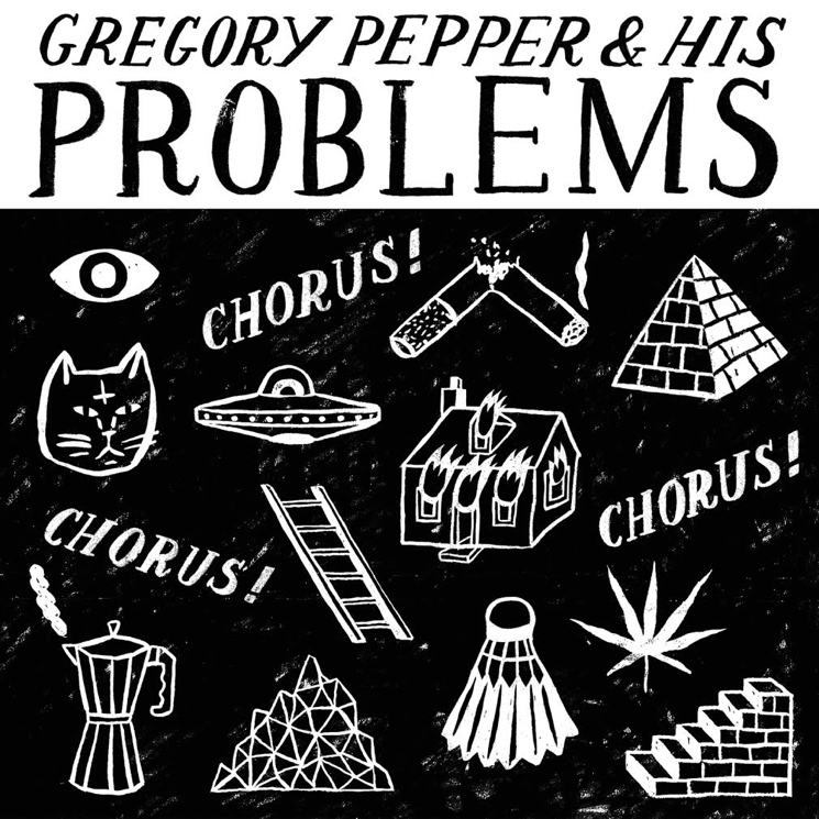 Gregory Pepper 'Chorus! Chorus! Chorus!' (album stream)