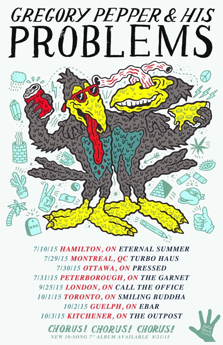 Gregory Pepper & His Problems Map Out Canadian Tour Dates